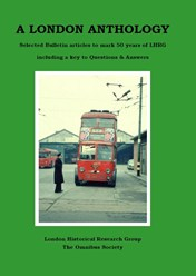 A London Anthology - Bulletin articles to mark 50 years of LHRG