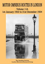 Motor Omnibus Routes in London Volume 11A