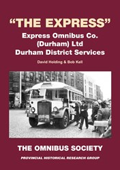 """The Express"" Express Omnibus Co (Durham) Ltd - Durham District Services"