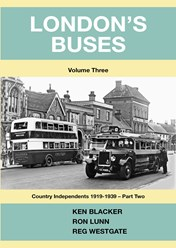 London's Buses Vol 3: Country Independents 1919-1939 - Part Two