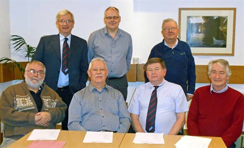 Omnibus Society February 2015 Committee Photo