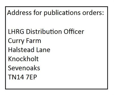 Address For Orders